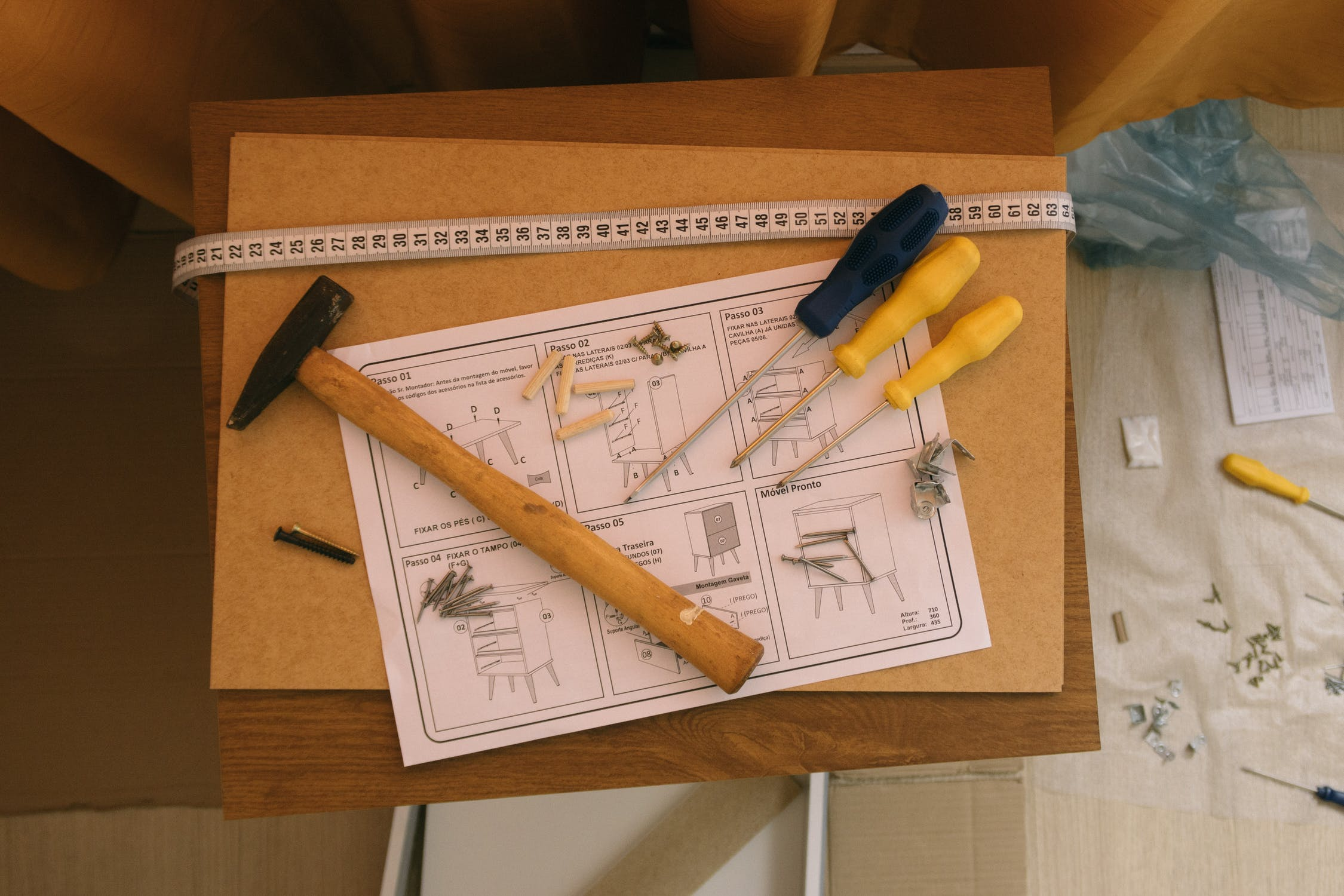 Instructions and tools to build